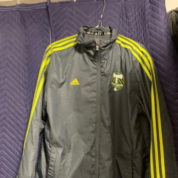 Adidas Portland timber jacket grey